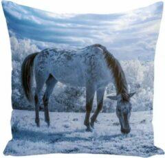 Dierenkussens Kussenhoes met paardenafbeelding - paardenkussen