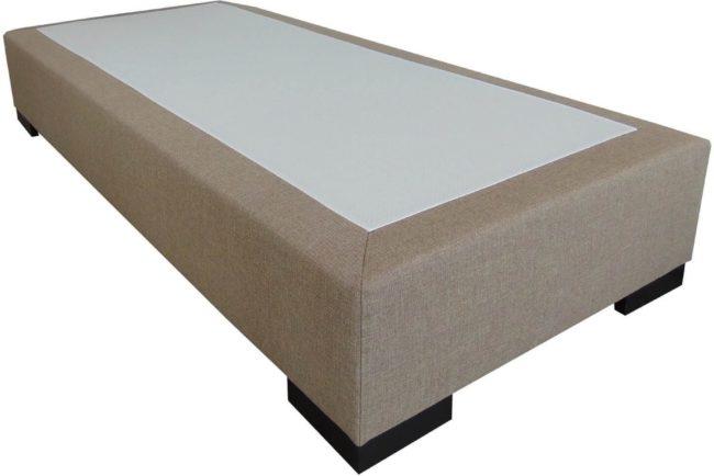 Afbeelding van Slaaploods.nl Deluxe - Boxspring exclusief matras - 90x200 cm - Beige