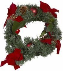 Groene Kerstkrans buiten - Kerstkrans groen - Christmas Gifts