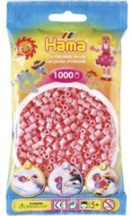 Hama strijkkralen roze (006)