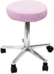 Mega Beauty Shop® Hoes voor krukken werkstoel paars - Beschermhoes