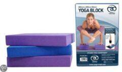 YOGA-MAD Yoga Blok - 5 cm - Paars