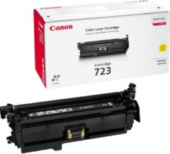 Gele Canon 723 tonercartridge geel standard capacity 8.500 pagina's 1-pack