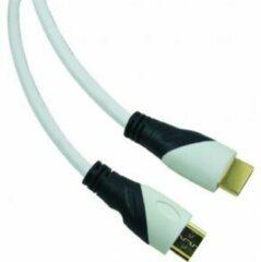 Sandberg - 1.4 HDMI kabel - 1 m -Zwart/Wit