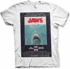 Witte Hybris Vintage Original Poster Heren T-shirt Maat M
