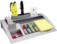Post-it Tafelorganizer Desk Organizer C50 Zilver (metallic) Aantal vakken: 7 7000062207