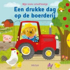 Deltas Schuifboek Een Drukke Dag Op De Boerderij 18 Cm
