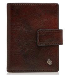 Castelijn & Beerens Rien RFID Mini Wallet 10cc cognac Dames portemonnee