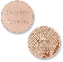 Roze Mi Moneda Del Mundo - Barcelona rose Del Mundo - Barcelona rose munt