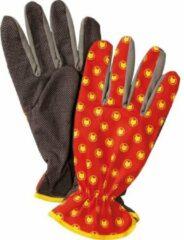Rode WOLF-Garten Balkonhandschoen GH-BA 10 - maat 10 - Large - Fijngevoelige vingertoppen - optimaal werken - comfortabel dragen