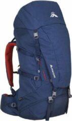 Rode Macpac Backpack Torlesse 65 Liter W2 Dames Polyester Blauw