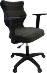 Grijze Good Chair Kantoorstoel UNI ergonomisch antraciet BA-C-6-B-C-DC17-B