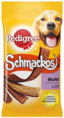 Beige Snack Hond Pedigree Schmackos Multi 20 Pack