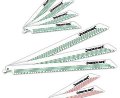 Silverline Säbelsägeblätter für Holz und Metall 783087