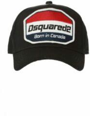 Zwarte Dsquared2 Baseball Cap