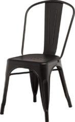 Legend café stoel - Mat zwart