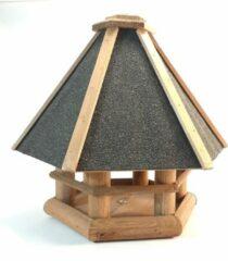 Bruine Plant&More-Houten vogelhuisje/nestkastje -Vogelbescherming