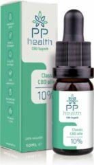 PP Health - CBD Olie Classic 10% - 1000mg - Nu tijdelijk CBD Boost 5% (5ml) gratis t.w.v. € 19,95 - Biologische kwekerij in Zwitserland met een strikte selectie van de best volgroeide planten - 10 ml