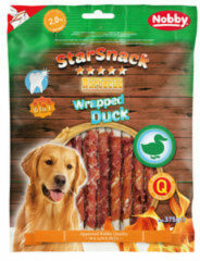 Nobby - Starsnack Barbecue Wrapped Duck Small - 375 g