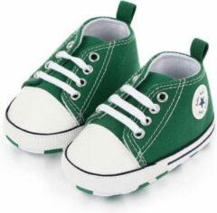 Groene Canvas Baby Schoenen-Kinderschoenen-Schoenen voor baby's-Eerste Wandelaars-Meisjes Eerste Wandelaars-Kinderschoenen voor baby's-Baby schoenen Pasgeboren-Baby-Jongens-Zachte Zool-Baby schoenen-kinderschoenen Jongen-Babyschoenen -Schoenen-12-18M