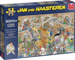 Donkerblauwe Jumbo Jan van Haasteren Museum legpuzzel 3000 stukjes