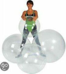 Gymnic Ledraplastic Gymnic Opti Ball 65 - Zitbal en fitnessbal - Transparant - Ø 65 cm