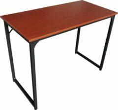 VDD Industrial Vintage Design Bureau Stoer - laptoptafel - computertafel - industrieel vintage bruin