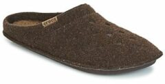 Bruine Pantoffels Crocs CLASSIC SLIPPER