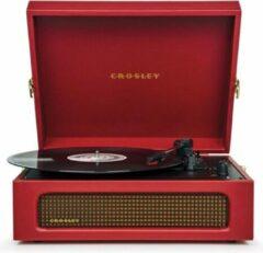 Crosley Voyager Burgundy Red platenspeler met Bluetooth