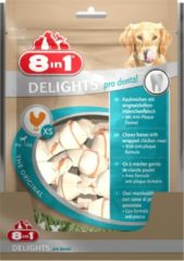 8in1 Delights Pro Dental - Hondensnacks - Kip 21x12 g 21 stuks Xsmall