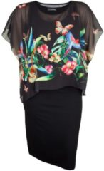 Sommerkleid mit Chiffonüberwurf Doris Streich floral