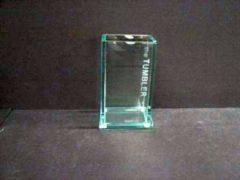 Transparante Kleine Wolke Tandenborstelhouder glas