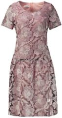 Kleid aus Stickereispitze Gerry Weber Schwarz-Puder gemustert