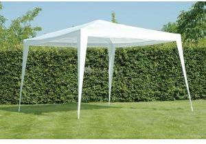Afbeelding van Witte LesliLiving Partytent Paviljoen wit 3x3 m LE50500