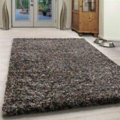Enjoy Vloerkleed - Obe - Rechthoek - Taupe - 60 x 110 cm - Vintage, Patchwork, Scandinavisch & meer stijlen vind je op WoonQ.nl
