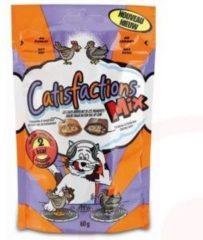 Catisfactions Kattensnoepjes 60 g - Kattensnack - Kip&Eend - Kattenvoer