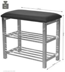 Möbel direkt online Moebel direkt online Sitzbank Schuhregal Metall-Sitzbank mit gepolsterter Sitzfläche