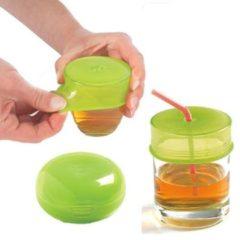 Groene Mastrad Drink capje, set van 2, groen - Mastad Baby