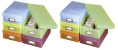 WENKO Multi-Boxen, 10er Set