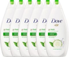 Dove Douchegel Go Fresh Touch Voordeelverpakking 6x500ml