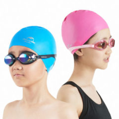 Naturehike Silicon Swimming Cap Kids Waterproof Anti-chlorine Elastic Scrubbing Ear Protection Children