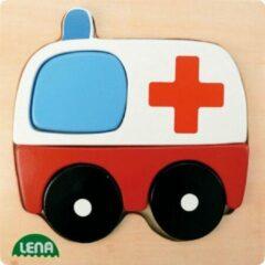 Lena Houten puzzel - Ambulance