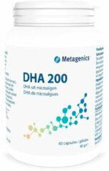DHA 200 potje van Metagenics : 60 capsules
