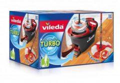 Vileda EasyWring & Clean mop complete set met tweede dweilkop en steelhouder