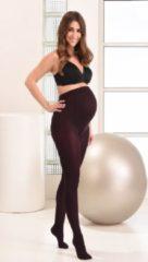 Donkerrode Mamsy Super Comfortabele Zachte Zwangerschaps Panty 60den (Wijn | L)