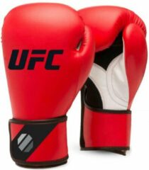 UFC Training (kick)bokshandschoenen Rood/Zwart 16oz