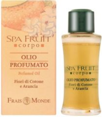 Frais Monde simple Spa Fruit Cotton Flower And Orange Perfumed Oil 10ml Vrouw