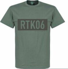 Retake RTK06 Bar T-Shirt - Zink - S