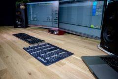 InsideAudio Ableton shortcut muismat - zwart/wit