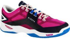 KIPSTA Volleyballschuhe V500 Damen blau/rosa, Größe: 37